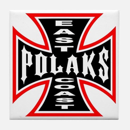 Cute Polaks Tile Coaster