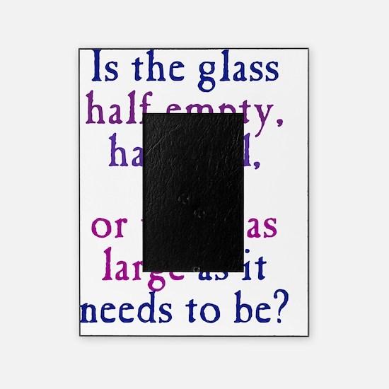 glasshalfempty1_ipad Picture Frame