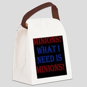 Minions_rnd2 Canvas Lunch Bag