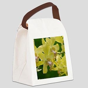 yelloworchidnotecard Canvas Lunch Bag
