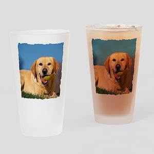 LabTB shirt Drinking Glass
