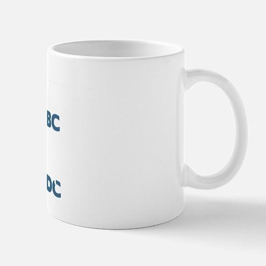 VancouverWABlk Mug