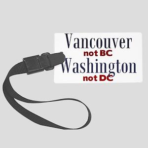 VancouverWA Large Luggage Tag