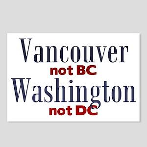 VancouverWA Postcards (Package of 8)