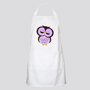 purple for family Apron