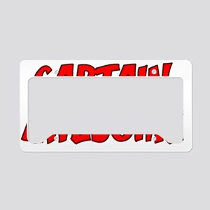 CAPTAINAWESOME License Plate Holder