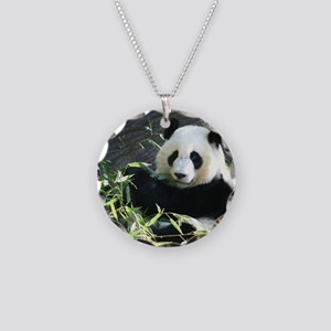 panda2 - Copy Necklace Circle Charm