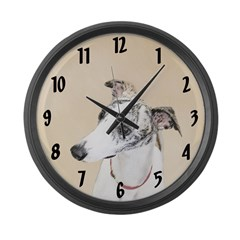Whippet Large Wall Clock