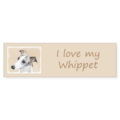 Whippet Sticker (Bumper 10 pk)