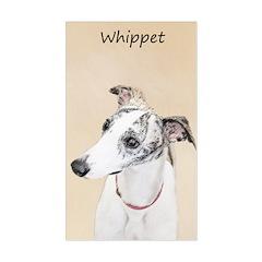Whippet Sticker (Rectangle)