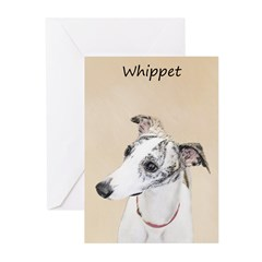 Whippet Greeting Cards (Pk of 10)