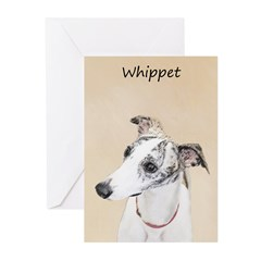 Whippet Greeting Cards (Pk of 20)