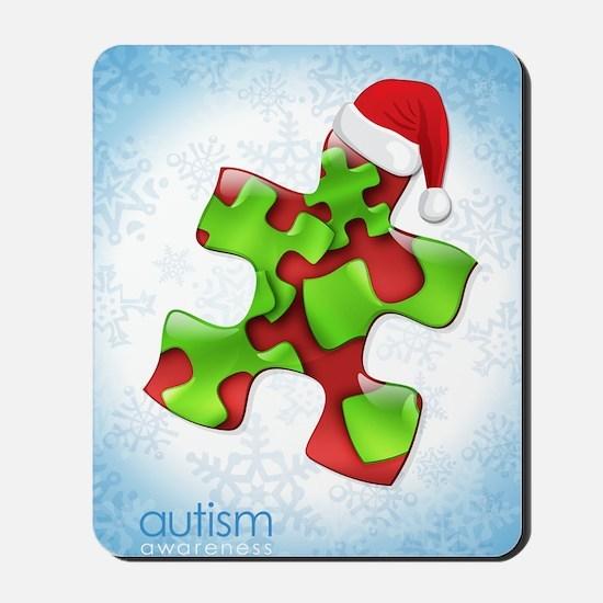 autism-xmas-card1rg Mousepad