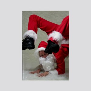 Father Twistmas Rectangle Magnet
