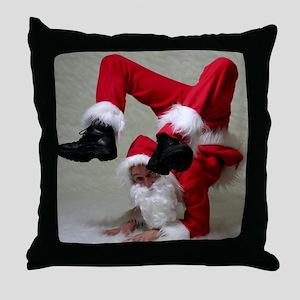 Father Twistmas Throw Pillow