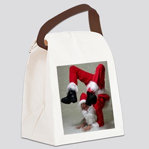Father Twistmas Canvas Lunch Bag