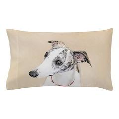 Whippet Pillow Case