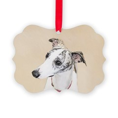 Whippet Ornament
