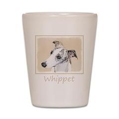 Whippet Shot Glass