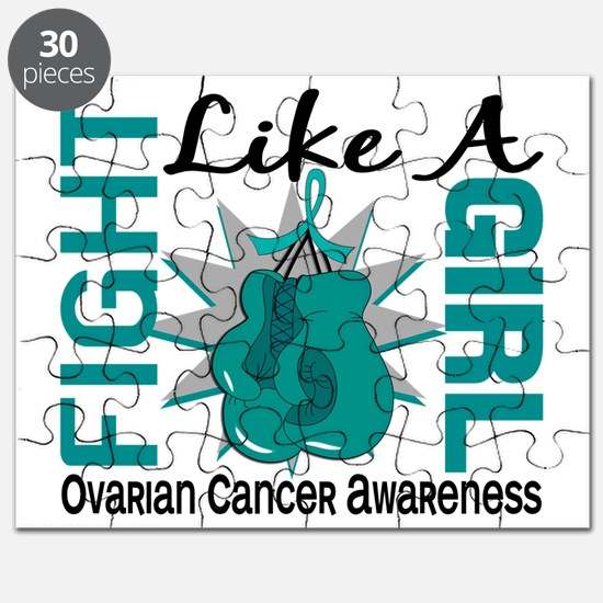 Fight Like A Girl Ovarian Cancer 8.3 Puzzle