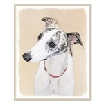 Whippet Small Poster
