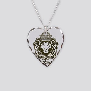 roots rock reggae qr2 Necklace Heart Charm