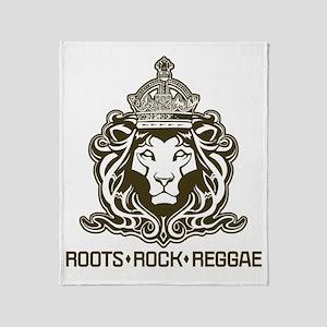 roots rock reggae qr2 Throw Blanket