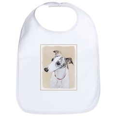 Whippet Cotton Baby Bib