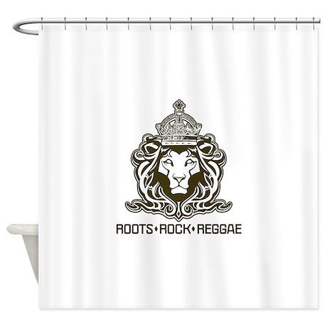 Roots Rock Reggae Qr2 Shower Curtain