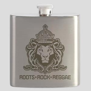 roots rock reggae qr2 Flask