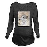 Whippet Long Sleeve Maternity T-Shirt