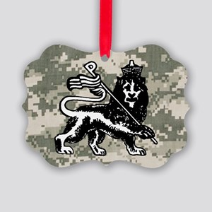 steelo patch Picture Ornament