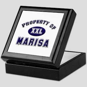 Property of marisa Keepsake Box