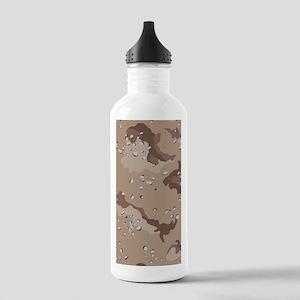 Desert Camouflage Stainless Water Bottle 1.0L