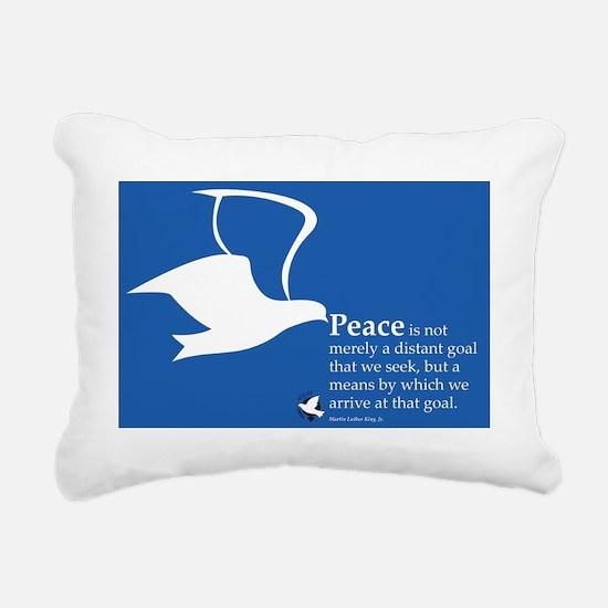 WILPF Peace by Martin Lu Rectangular Canvas Pillow