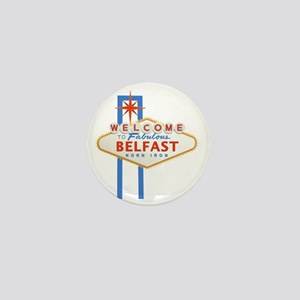 Belfast - Las Vegas Sign Mini Button