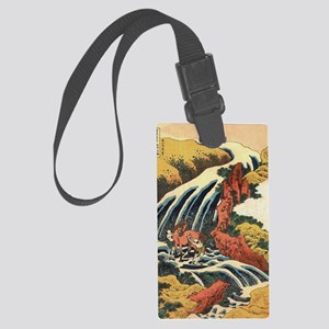 Hokusai Print Large Luggage Tag