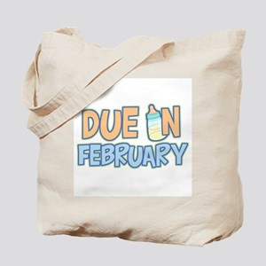 Due In February Boy Tote Bag