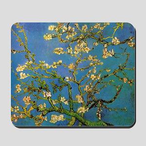 van gogh blossoming almond tree Mousepad
