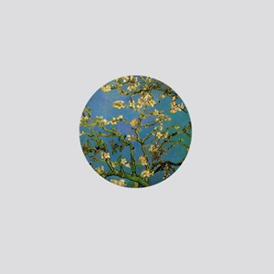 van gogh blossoming almond tree Mini Button
