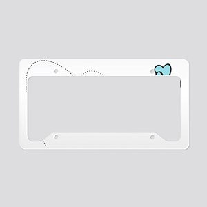 Buzzing Bee License Plate Holder