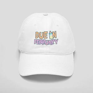 Due In February Girl Cap