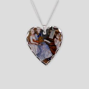 renoir Necklace Heart Charm