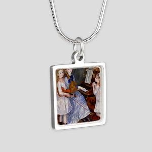 renoir Silver Square Necklace