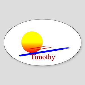 Timothy Oval Sticker