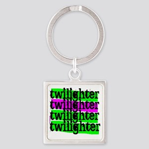 twilighter horizontal copy Square Keychain