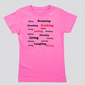 L Word theme words Girl's Tee