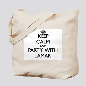 Keep Calm and Party with Lamar Tote Bag