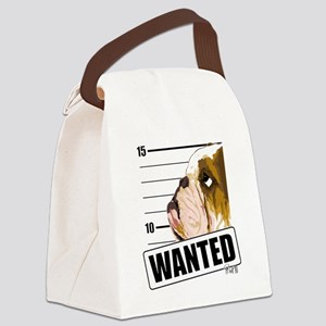 Bulldog5 Canvas Lunch Bag
