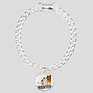 Bulldog5 Charm Bracelet, One Charm